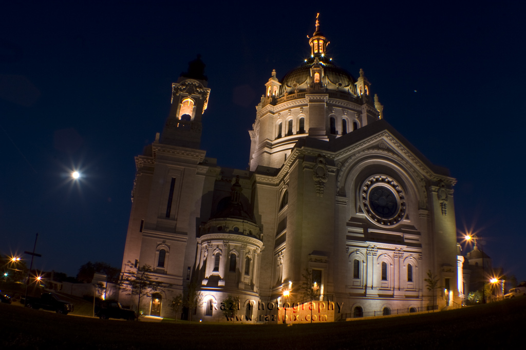 Catherdral Night Wide Angle